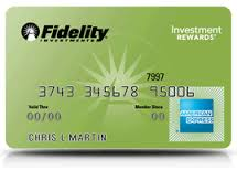 Fidelity American Express Credit Card