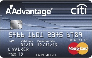American Airlines Citi AAdvantage Platinum Select Mastercard